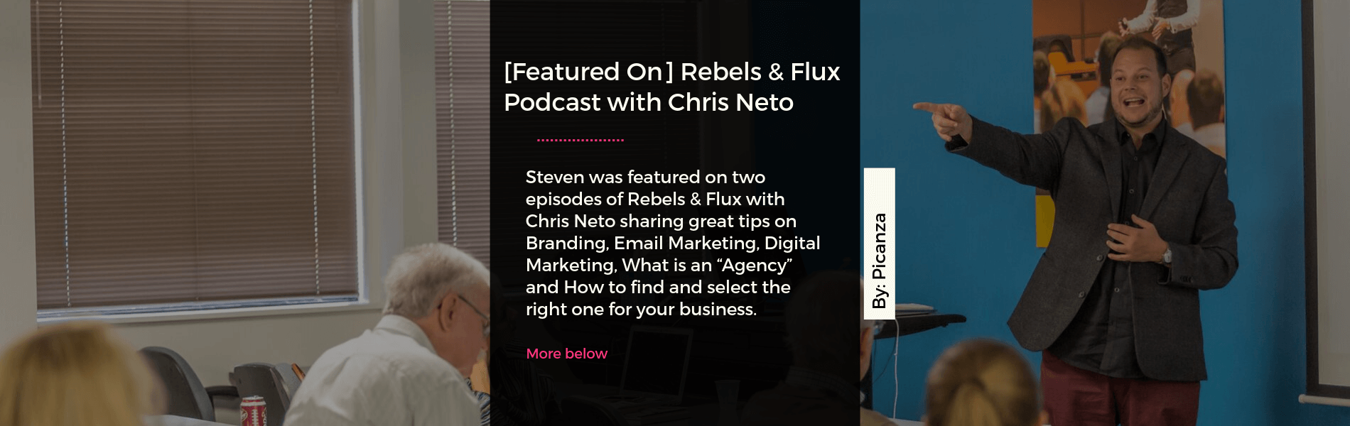 rebels and flux podcast with chris neto