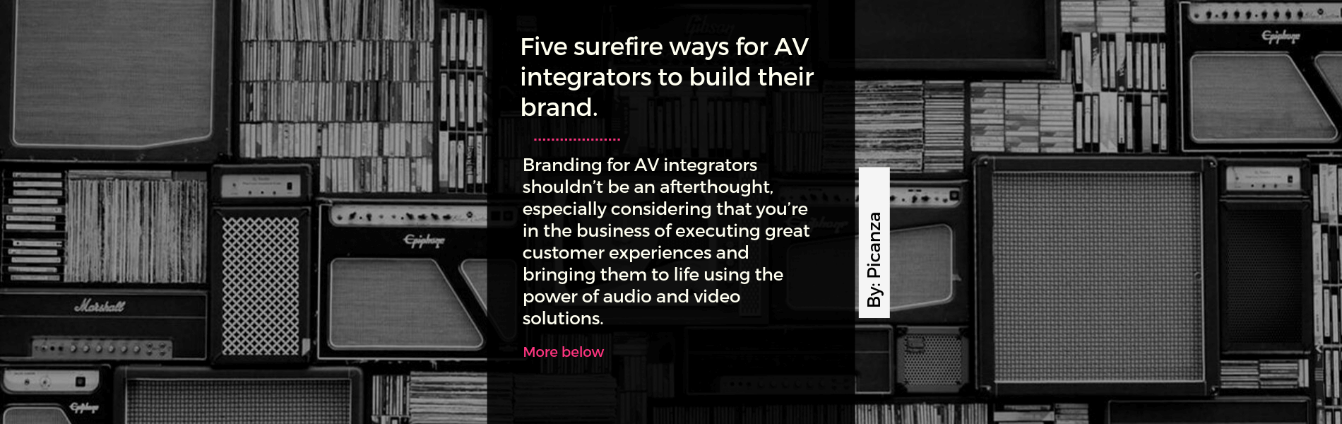 branding for av integrators