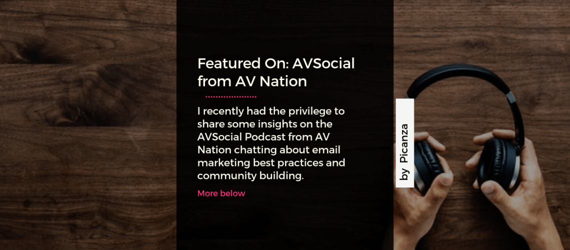 AVSocial podcast with Steven Picanza
