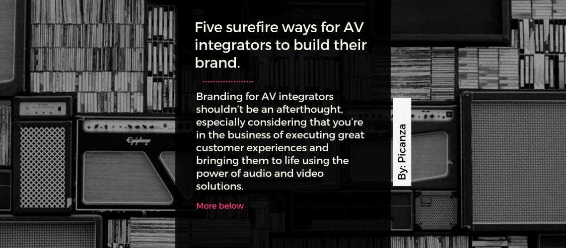 branding for av integrators
